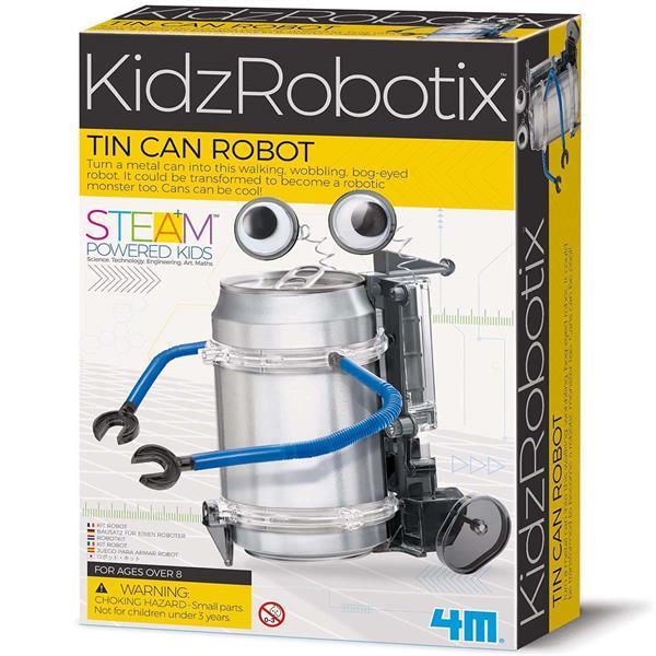 Робот-жестянка своими руками 4M (00-03270)