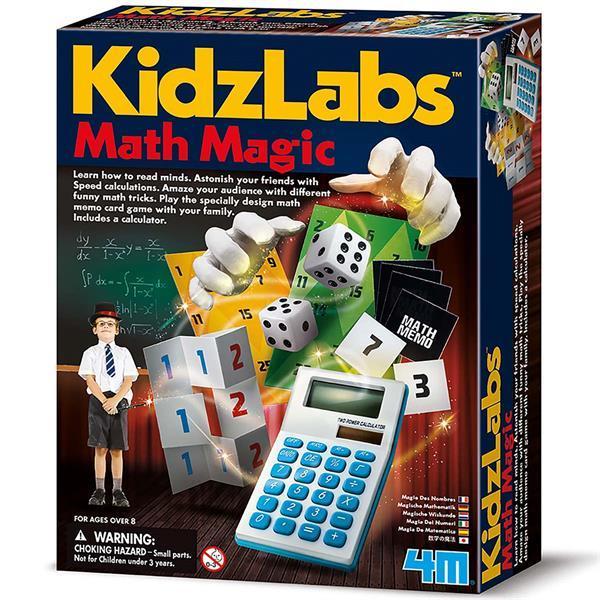Набор для фокусов 4M Магическая математика (00-03293)