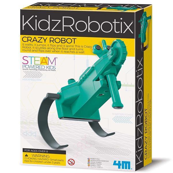 Шальной робот своими руками 4M (00-03393)