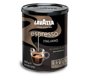 Кофе молотый Lavazza Espresso 250гр., ж/б, Лавацца Оригинал Италия!