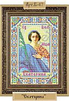 Схема для вышивки бисером «Святая Великомученица Екатерина»