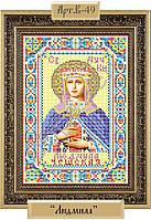 Схема для вышивки бисером «Святая Мученица Людмила»