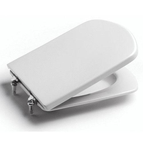 DAMA SENSO кришка/сидіння дюропластів з кріпленнями з нерж.сталі, білий