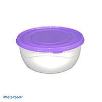 Миска для хранения продуктов круглая (15 X 7,5 см) 0,85 л