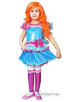 Детский карнавальный костюм Феи Винкс Лейла Код. 669