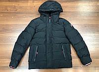 Мужская куртка Tommy Hilfiger D10121 черная, фото 1