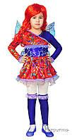 Детский карнавальный костюм Феи Винкс Муза Код. 666