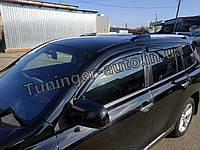 Вітровики,дефлектори вікон Toyota Highlander 2008-2013 (Hic), фото 1