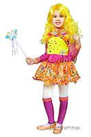 Детский карнавальный костюм Феи Винкс Стелла Код. 671