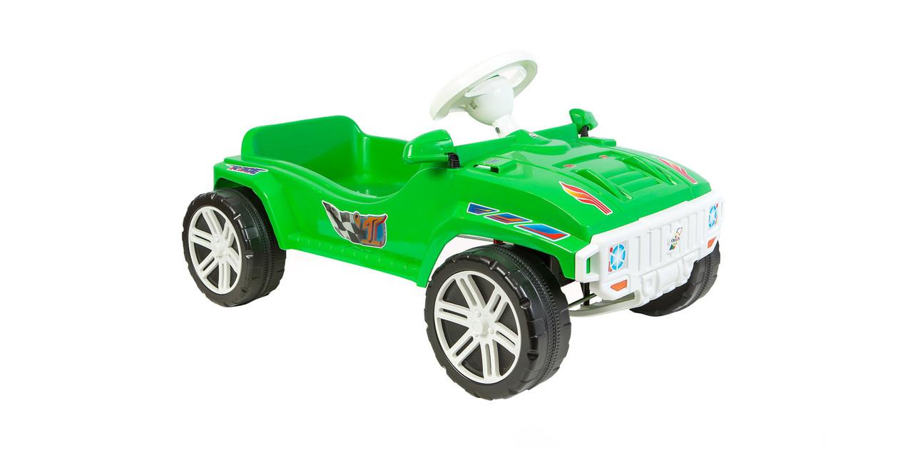 Детская педальная машина (792) Орион салатовая