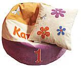 Бескаркасное Кресло-мяч пуф мебель детская мешок, фото 5