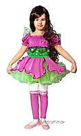 Детский карнавальный костюм Феи Винкс Флора Код. 667