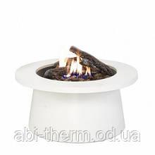 Вуличний стіл - газовий камін Areesta Cosiglobe white