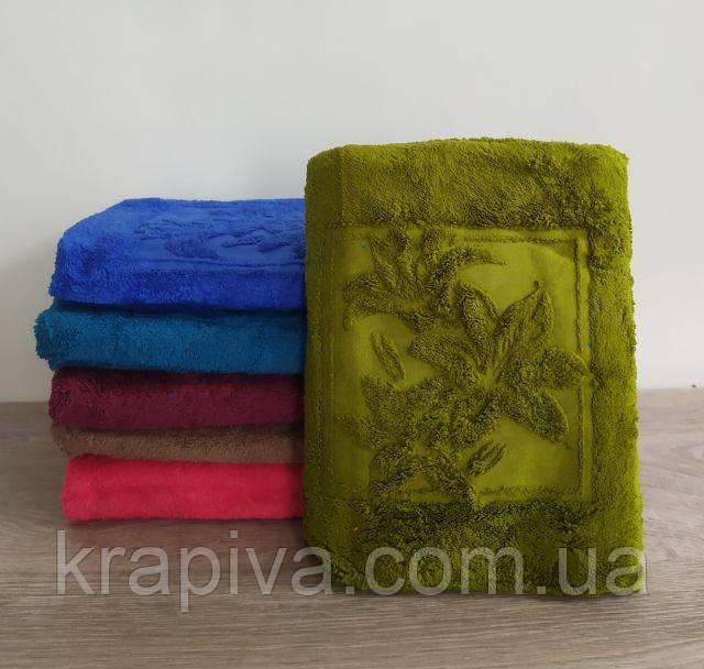 Полотенце рушник 140*70 великий для бани, микрофибра, для сауны