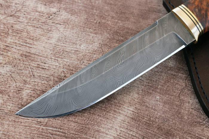 """Нож ручной работы из дамасской стали """"Аризона"""" - фото 3"""
