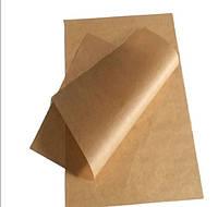 Ламинированные листы 420х300, крафт бурый, 40+10 г/м2 0+0 (4,8 кг/750 листов)