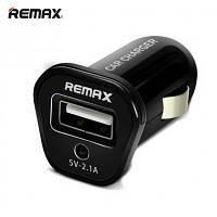 Автомобильное зарядное устройство Remax Car Charger 5V-2,1A Black