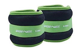 Обважнювачі для рук і ніг SportVida 2 x 0.5 кг SV-HK0032