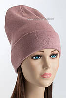 Теплая женская шапка Shady Flip Uni темная пудра