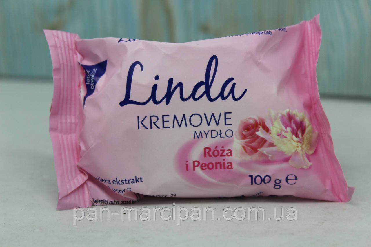 Мило брусок Linda Roza i Peonia 100 г