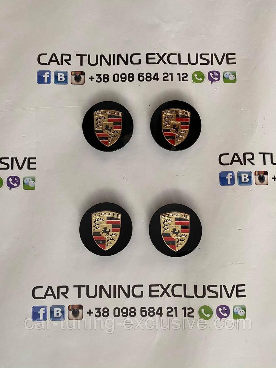 Disc caps for Porsche