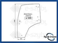 Стекло Claas/Renault Ergos левая дверь