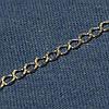 Серебряная цепочка 925 пробы Рембо 50 см №14
