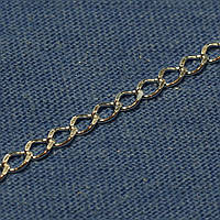 Цепочка мужская серебро на шею Ромб 50 см №14