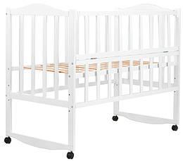 Ліжко Babyroom Зайченя ZL101 відкидний пліч-біла