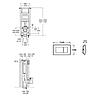 Инсталляционные системы Roca Инсталляция для унитаза Roca Eko Frame WMR01000001K010, фото 2