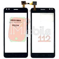 Сенсор (тачскрин) Prestigio MultiPhone PSP 3504 Muze C3 черный