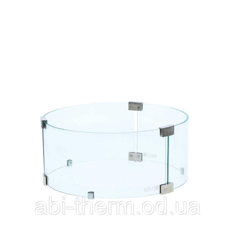 Набір стекол Areesta Cosi round glass set до вуличного газового каміна Cosiglob