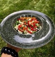 "Тарелка Farn ""Сиеста"" паста 27 см (гранит)"