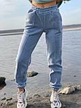 Спортивные штаны женские тёплые. Цвета: чёрный, серый, беж. Размеры: 42-44, 46-48, 50-52, фото 2