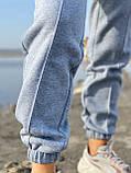 Спортивные штаны женские тёплые. Цвета: чёрный, серый, беж. Размеры: 42-44, 46-48, 50-52, фото 5