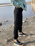 Спортивные штаны женские тёплые. Цвета: чёрный, серый, беж. Размеры: 42-44, 46-48, 50-52, фото 7