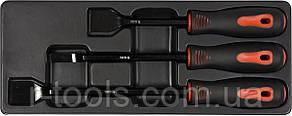 Набір сталевих скребків 25 X 220 мм 10 X 270 мм 25 X 310 мм 3 шт YATO YT-08474