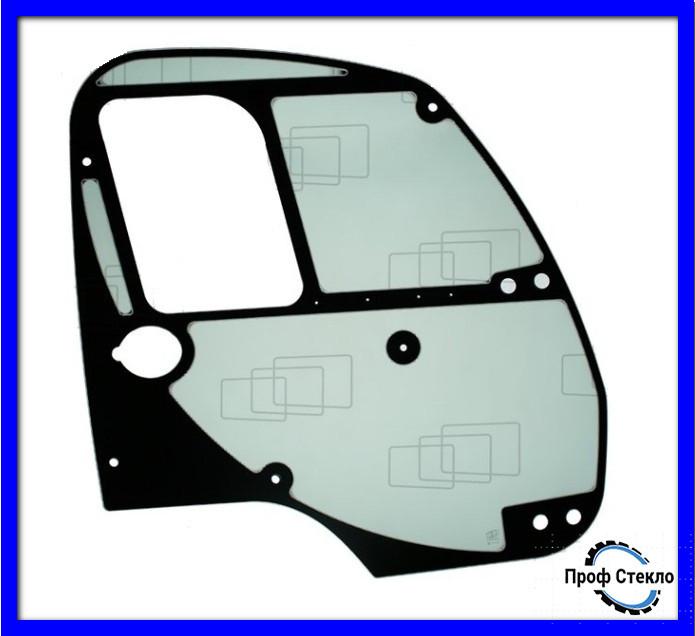 Скло двері праві підмітально-прибиральна машина Ausa B200H