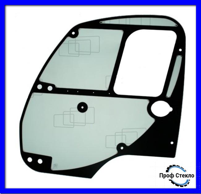 Скло двері ліві підмітально-прибиральна машина Ausa B200H