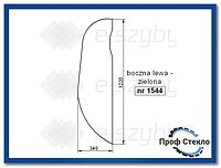 Стекло экскаватор JCB JZ140 JZ235 JZ255 - левая сторона 827/80219