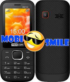 Телефон Maxcom MM142 Black Гарантія 12 місяців