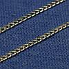 Серебряная цепочка Панцирное плетение 50 см П-50