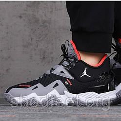 Мужские баскетбольные кроссовки Jordan Westbrook One Take Black Grey