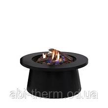 Вуличний стіл - газовий камін Areesra Cosiglobe black