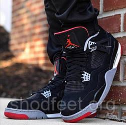 Мужские кроссовки Air Jordan 4 Retro Bred