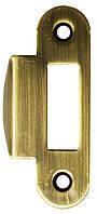 Ответная планка к механизму AGB с отбойником зелёная бронза