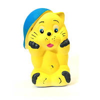 Скарбничка кіт рудий маленький 16 см