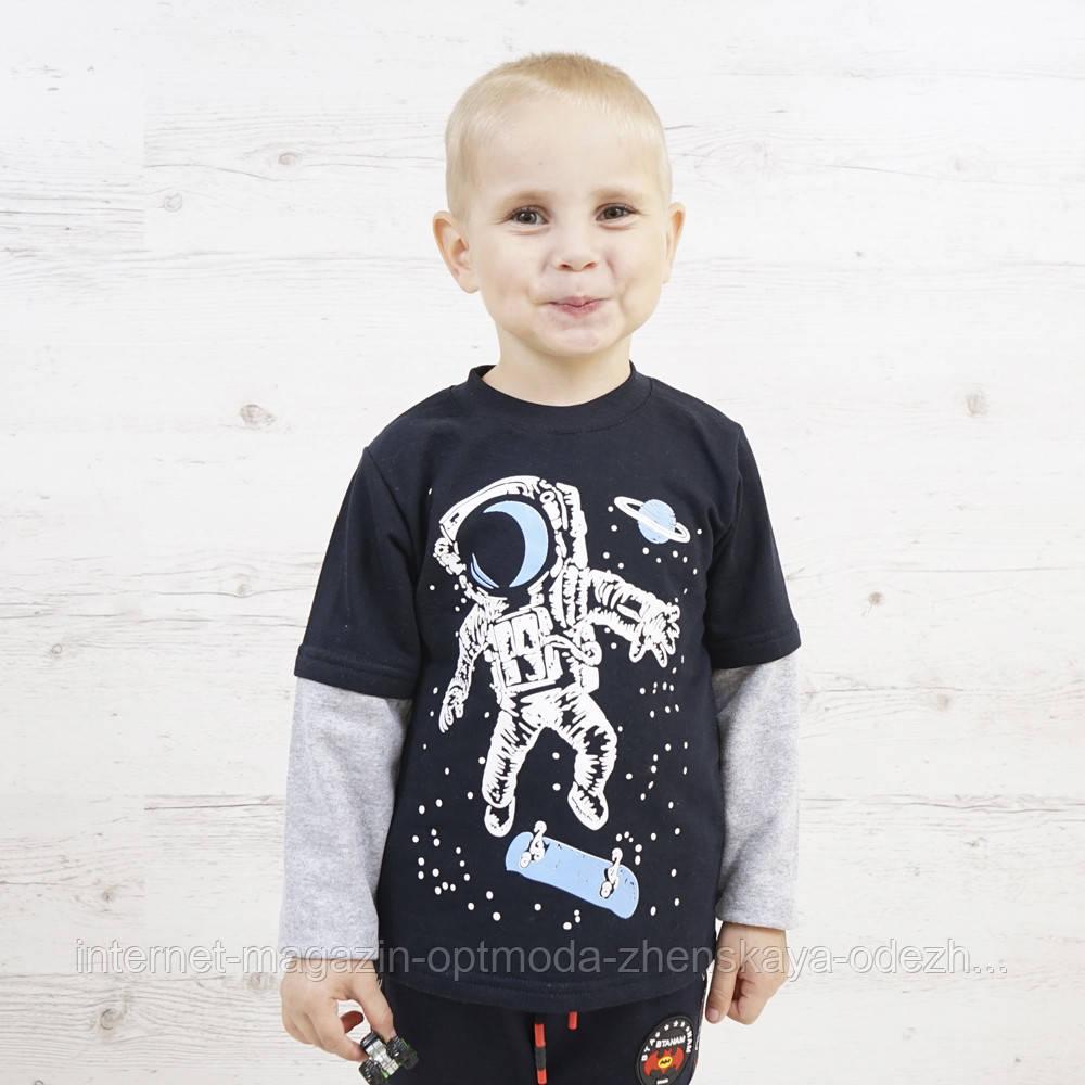 """Стильный удобный джемпер на мальчика """"Space"""""""