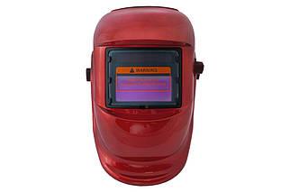 Маска сварочная Асеса - хамелеон TH-41-C300 красная (ТН-41-С-300), (Оригинал)