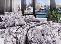 Двуспальное постельное белье 180*220 ЭКОНОМ (15402) Бязь хлопок_полиэстер